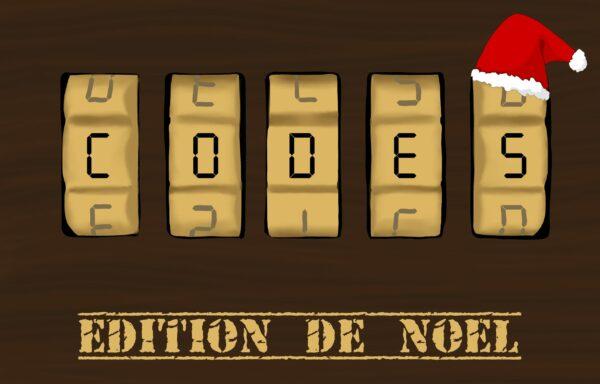 Codes - édition de noël